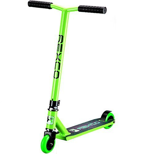Rexco Fixed Bar Pro Stunt Scooter Street Jump Push Trick Kids Childrens...