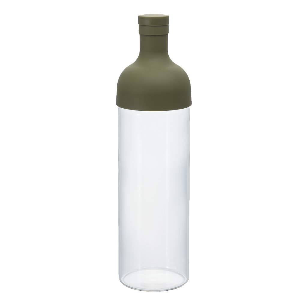 Hario FIB-75-O Cold Brew Tea Bottle, 750ml, Olive Green
