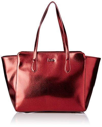 Lpb Woman W16b0701, Sac à main taille unique pour femme rouge (rubis)