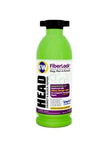 K&W FiberLock Head Gasket & Block Repair, 32 Fl Oz by CRC
