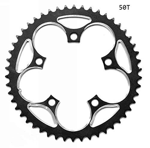 - Xennos 110 BCD Chainring 34T 39T 44T 46T 48T 50T 53T crankset 5 to 9 Speed 3/32 Chain - (Color: 50T)