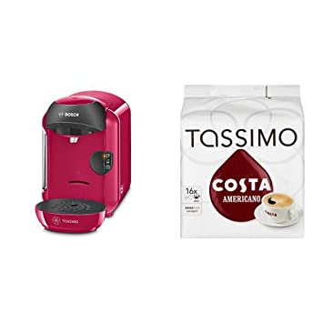 Tassimo By Bosch T12 Vivy Tas1251gb Coffee Hot Drinks And