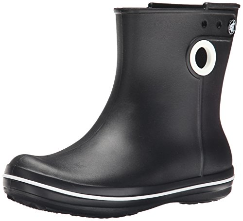 crocs Women's Jaunt Shorty Boot,  Black, 6 M US