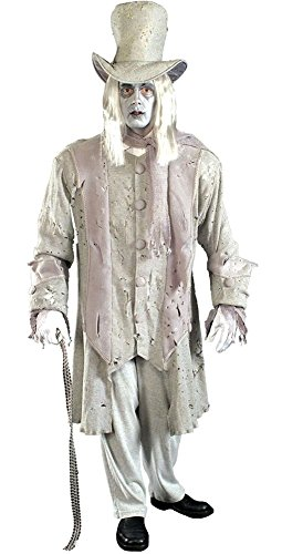 Ghostly Gentleman Costume - Standard - Chest Size up to -