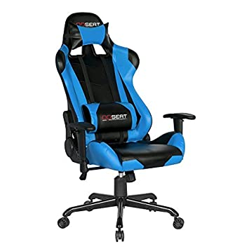 opseat master series pc gaming chair light blue amazon ca home
