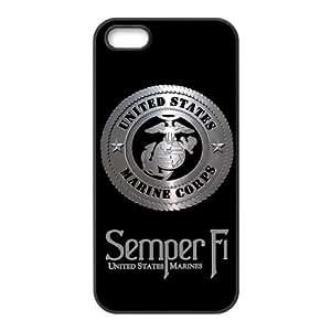USMC Marine Corps Logo Semper FI Iphone 5 Best Durable Case Cover