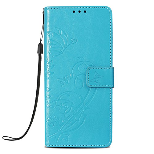 Case Compatible Galaxy Note 9, PU Leather Kickstand Wallet Flip Cover Protective Case for Samsung Galaxy Note 9 (Samsung Galaxy Note 9, 7) by 10-Japer