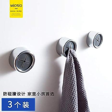 Amazon.com: Mosio gancho adhesivo fuerte de pared, sin ...
