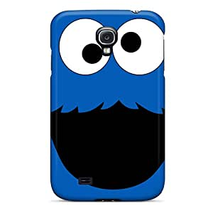 JoanneOickle Samsung Galaxy S4 Scratch Resistant Hard Phone Cases Support Personal Customs Colorful Cookie Monster Skin [Yxg8573hnqy]