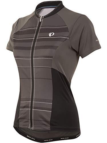 Pearl Izumi - Ride Ride Women's Elite Escape Short Sleeve Jersey, Shadow Green Stripe, Medium