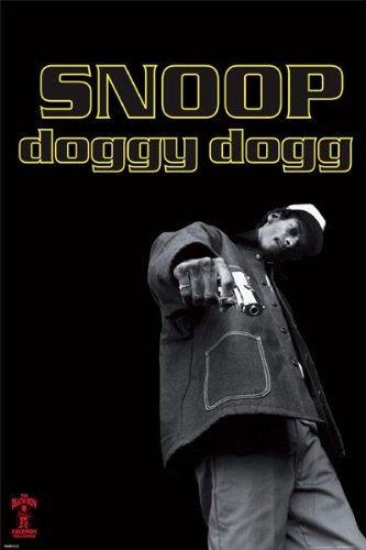 Pyramid America Snoop Doggy Dogg-Death Row, Music Poster Print, 24 by 36-Inch