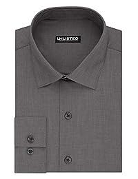Kenneth Cole New York Mens Dress Shirt Regular Fit Solid Dress Shirt