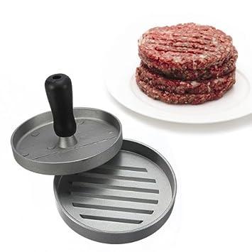 Amazon.com: Kitchen Hamburger Press Meat Patty Mold Maker 12cm/4.8inch BML Brand // Cocina hamburguesa de prensa carne patty molde de la fábrica libras ...