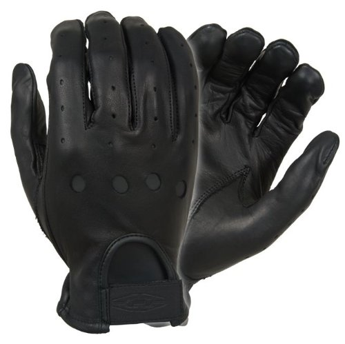 Damascus D22 Leather Driving Gloves Full-Finger Unlined, ...