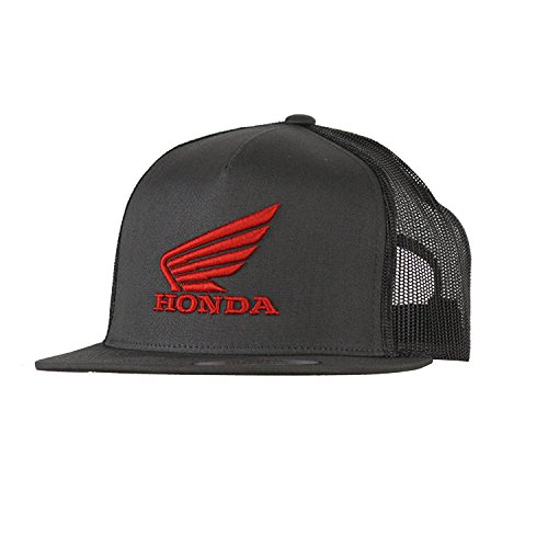 Mayhem Industries Honda Racing Snap Back Hat Gray Official Licensed Product