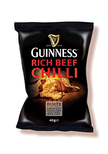 Burt's Guinness Rich Chili Thick Cut Potato Chips, 5.3 Ounce ()
