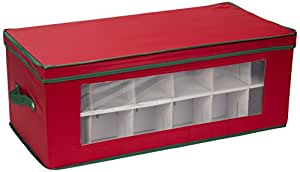 Amazon.com: Household Essentials 551RED Large Christmas ...