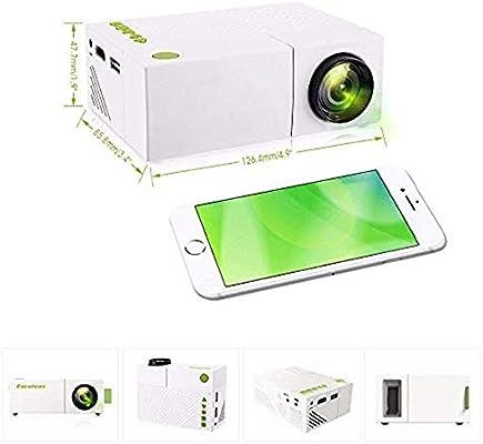 Mini proyectores Mini proyector de películas multimedia portátil ...