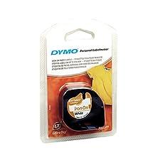Dymo Tape LETRA Tag White Cloth BELGIUM