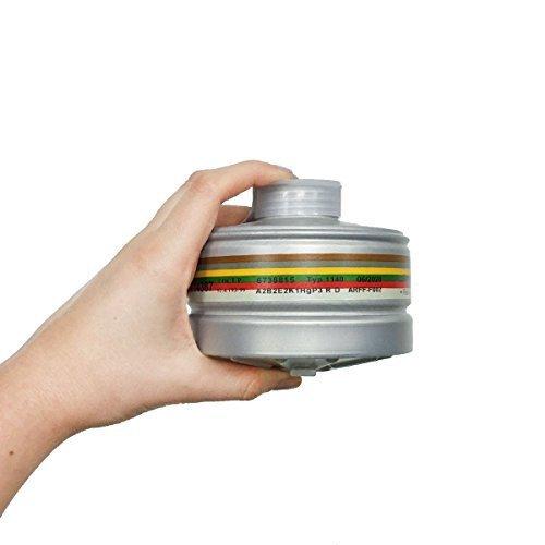 Gas Mask Filter 40mm CBRN Military Grade Gas Mask Filter Made in 2017 (Filter NATO 40 mm) ()