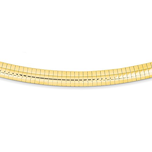 8mm Omega Necklace Chain - 9
