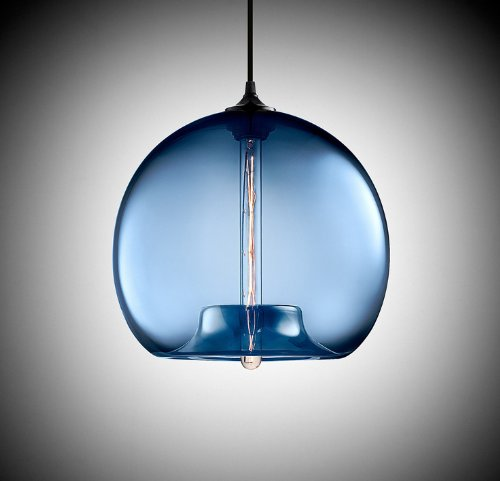 blue me glass lights light ignatieff aqua pendant