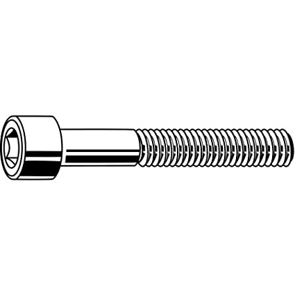 Socket Head Screw Super-Corrosion-Resistant Thread Size 3//8-16 316 Stainless Steel