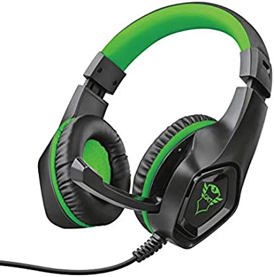 Trust GXT 404G Rana - Auriculares de gaming para Xbox One, Verde ...