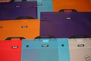Dekko - Maletín portadocumentos (tamaño A2), color turquesa