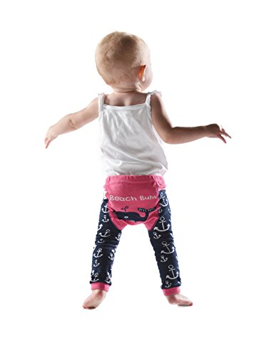 Beach Bum-Whale Infant Leggings by LazyOne in Size (Bum Bum Trousers)