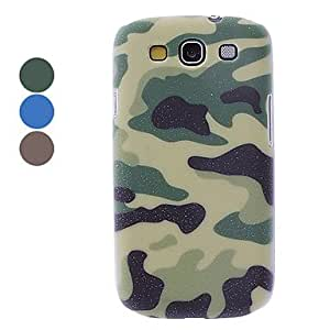 Tmall - Camouflage Design Hard Case for Samsung Galaxy S3 I9300 (Assorted Colors) , Green