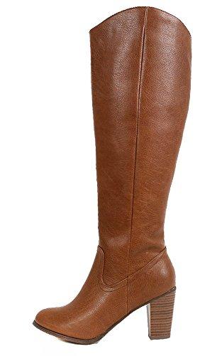 Fourever Funky, Damen Stiefel & Stiefeletten , Braun - Marrone (marrone) - Größe: 41 EU