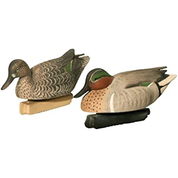 Final Approach Gunner HD Green Winged Teal Floating Decoys (Pack Of 6)