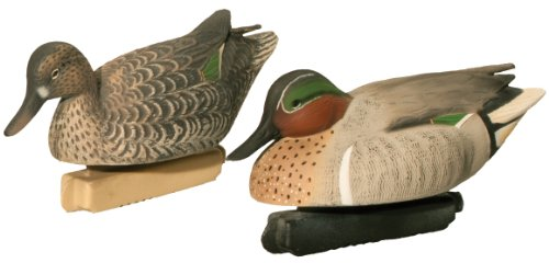 Green Winged Duck Teal - Final Approach Gunner HD Green Winged Teal Floating Decoys (Pack of 6)