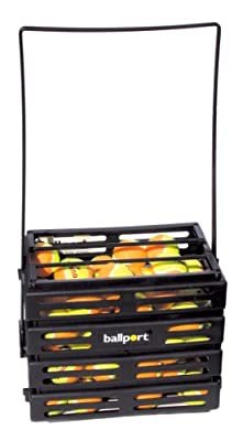 Tourna Kid's Large Ballport with 70 Stage#2 Balls, Orange
