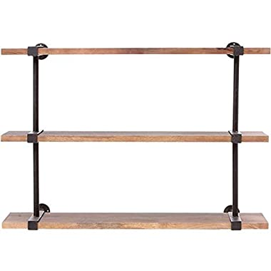 Studio Craft Wall Shelf, SMALL, WEATHERED BLACK