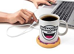 BigMouth Inc Coffee and a Donut USB Mug Warmer