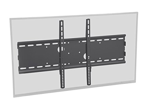 es Wide Fixed TV Wall Mount Bracket for TVs 37in to 70in Max Weight 165 lbs VESA Patterns Up to 750x450 UL Certified ()