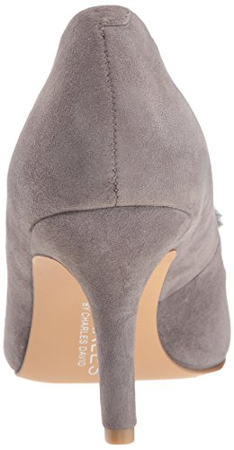 Charles By Charles David Mujeres Sadie Pump, Gray, 8.5 Medium Us