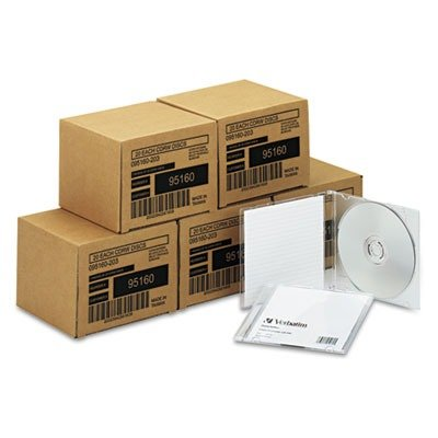 CD-RW Disc, 700 MB, 80 min, 4x, PK 100 by Verbatim