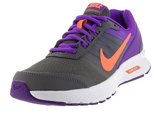 Nike Air Relentless 5 Drk Gry / ATMC PNK / FRC Prpl / pizca del zapato corriente 8 con nosotros Drk Gry/Atmc Pnk/Frc Prpl/Whit