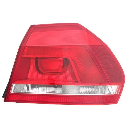 Go-Parts OE Replacement for 2012-2015 Volkswagen Passat Rear Tail Light Lamp Assembly/Lens / Cover - Right (Passenger) Side Outer 561 945 096 H VW2805108 for Volkswagen Passat