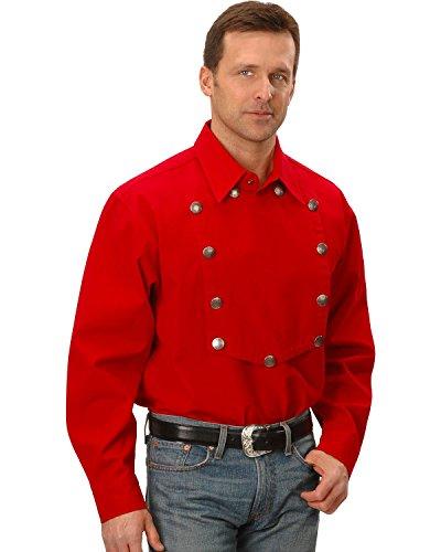 Scully Rangewear By Men's Rangewear Frontier Engineer Shirt Red (Cotton T-shirt Bib)