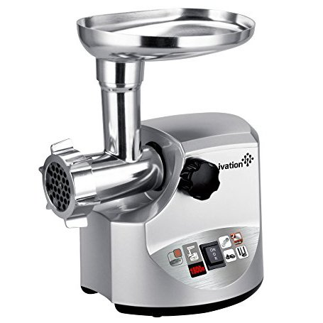 Ivation 1800 Watt Electric Meat Grinder Mincer, Sausage