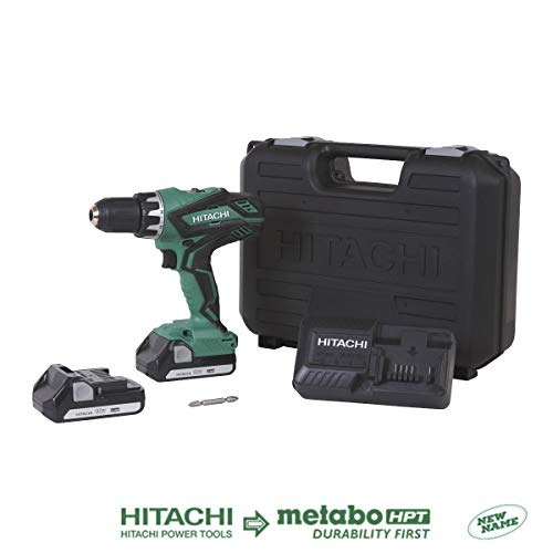 (Hitachi DS18DGL 18-Volt Cordless Lithium-Ion 1/2 Inch Compact Drill Driver Kit (Lifetime Tool Warranty) (Discontinued by the Manufacturer) )
