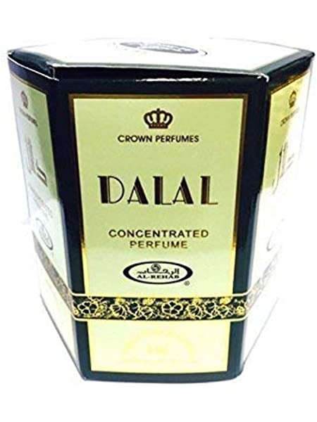Pack de 6 Musc Perfume Al Rehab Dalal 6ml 100% Aceite: Amazon.es: Belleza