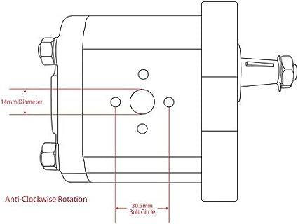 5179730 1101-1026 569306 1930058 31-2906458 H5129478 Fiat Tractor Hydraulic Pump Part No: A-5129478 113206 VPK1033 8280040 6701-1000 1901323