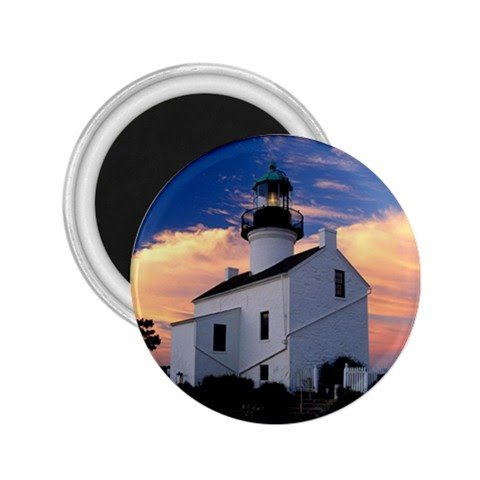 california cabrillo national monument old point loma lighthouse Souvenir Magnets