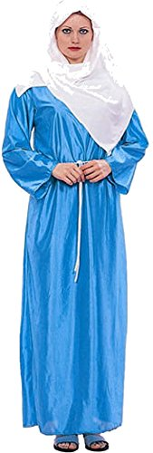 [Adult Women's Virgin Mary Costume (Size 8-12)] (Girls Virgin Mary Costume)
