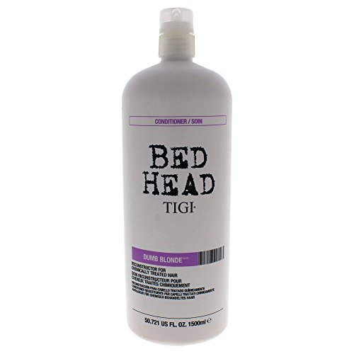 Dumb Blonde Shampoo Conditioner - Bed Head Dumb Blonde Conditioner, 50.72 Fluid Ounce